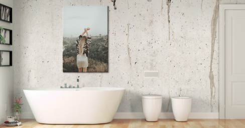 Can You Hang Canvas Prints In A Bathroom My Picture Uk